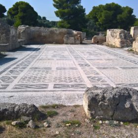 kids Greece isthmia site