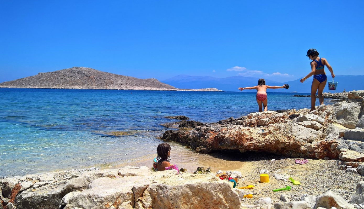 kids vacations summer Greece