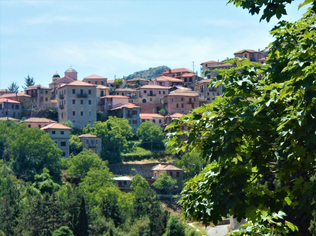 Greece Arcadia village Dimitsana