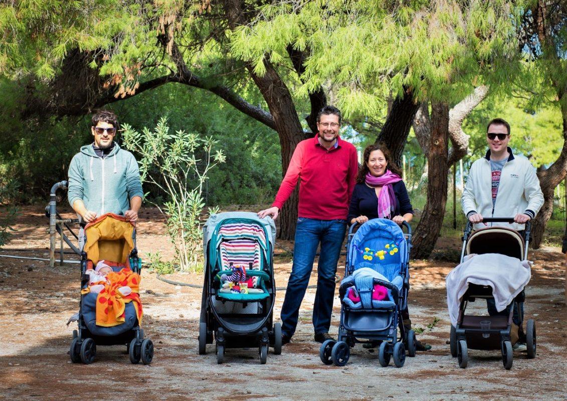 kids Greece peloponnese beach forest