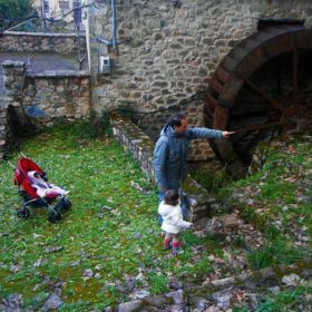 kids Greece peloponnese watermill
