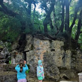 kids Greece excursion Agia Theodora