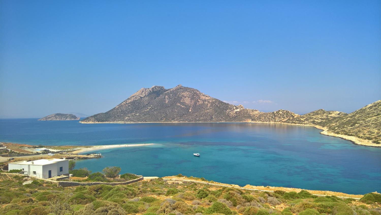 Greekl island Cyclades kids babies