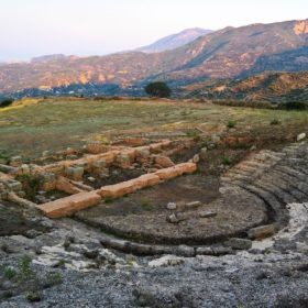 ancient theatre kids Greece patra