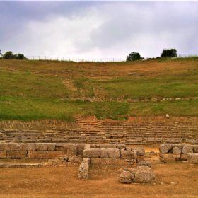 kids Greece ancient theatre