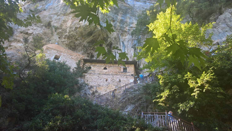peloponnese kids greece hiking sfyrida