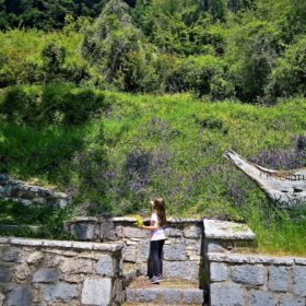 peloponnese kids greece libovisi spring