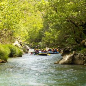 peloponnese kids greece rafting lousios