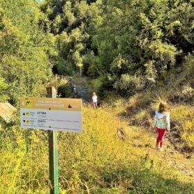 peloponnese kids greece menalon trail