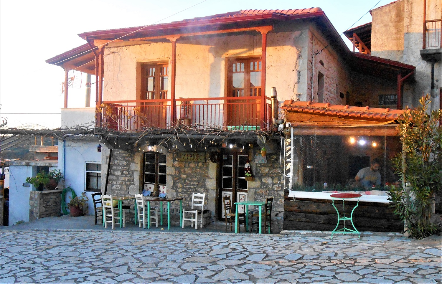 peloponnese kids greece zerzova tavern