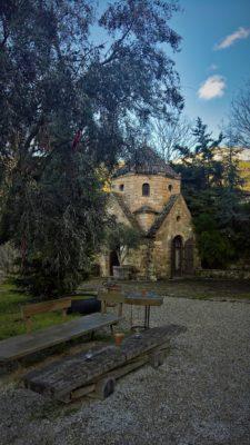 kids Greece peloponnese farm luxury glamping armenian church