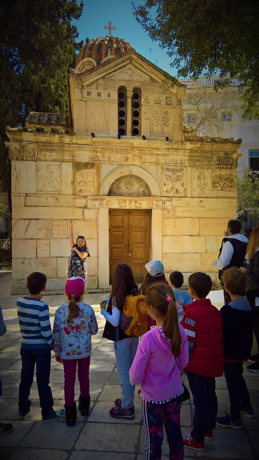 athens kids tours for families