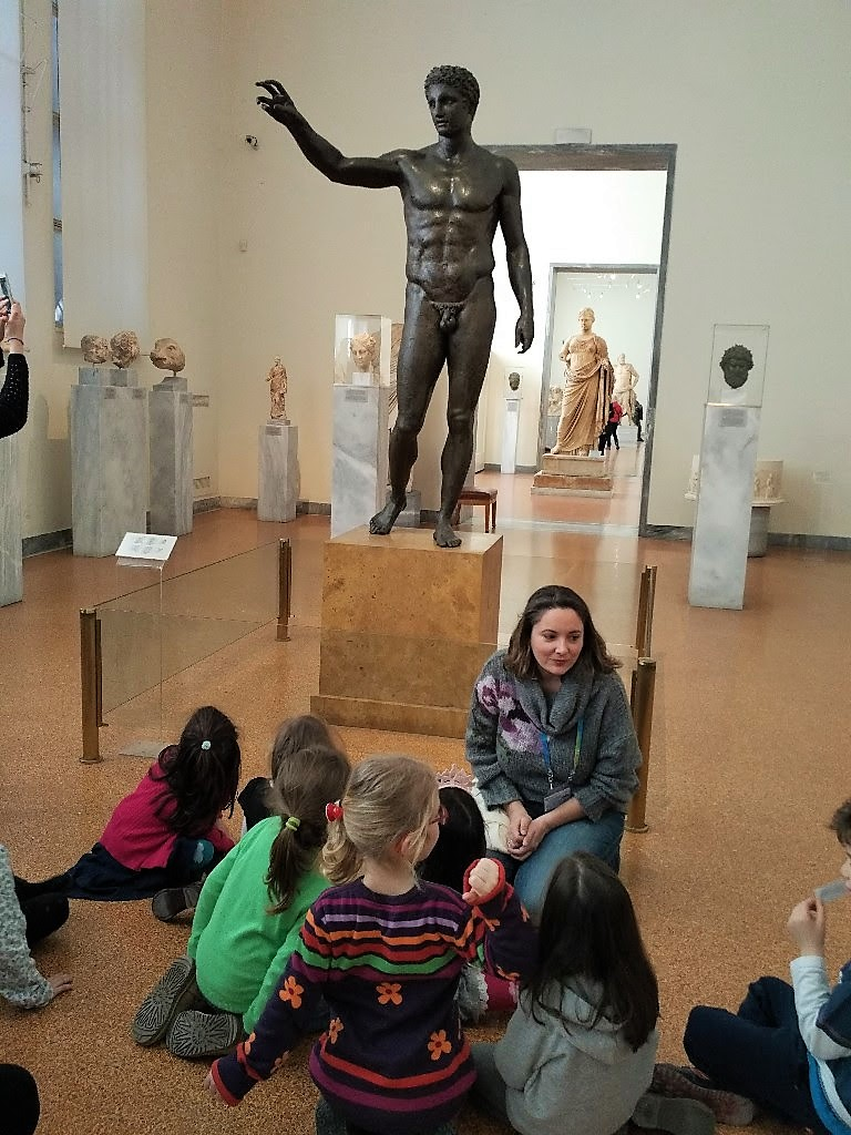 athens museum archaeological kids