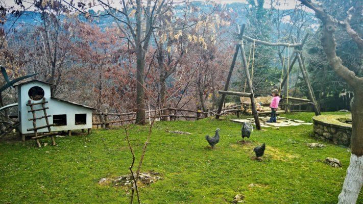 kids Greece peloponnese hotel farm kalavryta