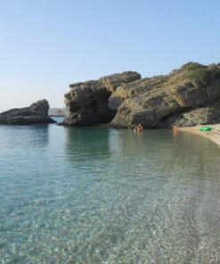 kids Greece evia beach babies