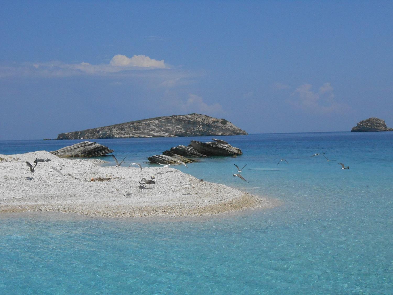 Greek islands Aegean aspronisia