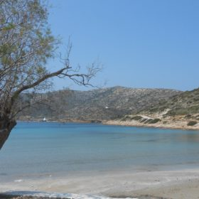Greek islands lipsi beach