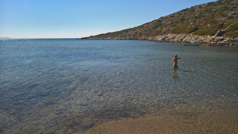 lipsi dodecanese beach kids