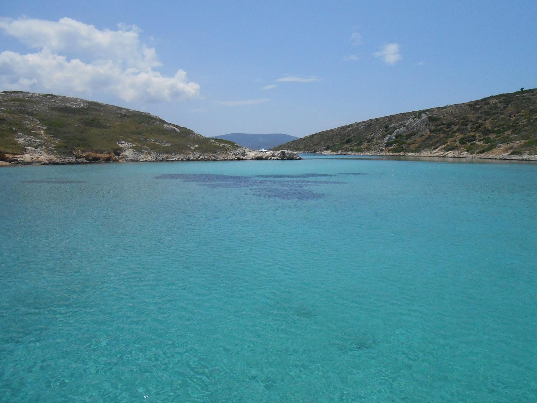 small Greek islands Aegean arki