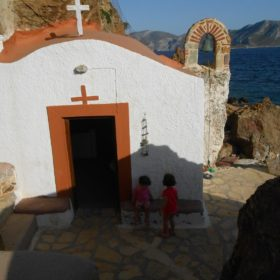 Greek islands Aegean with kids