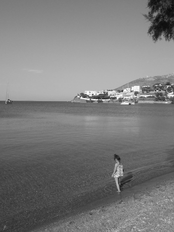 Greek islands leros with kids