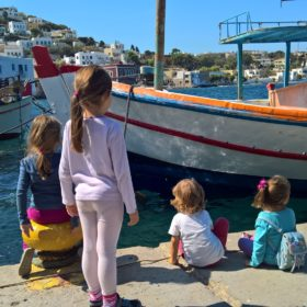 Greek islands with kids
