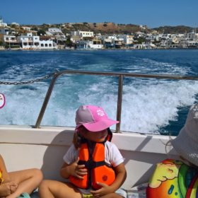 lipsi boat trip dodecanese toddlers babies