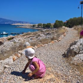 Greek islands kids dodecanese