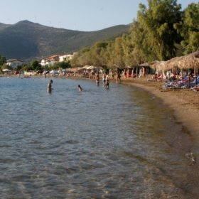 kids Greece evia beach babies