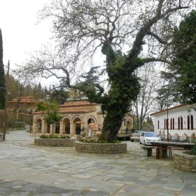 Greece kids monastery Lamia