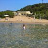 Corfu island with kids Greece beaches babies