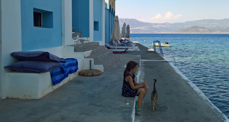 Greek islands kids dodecanese