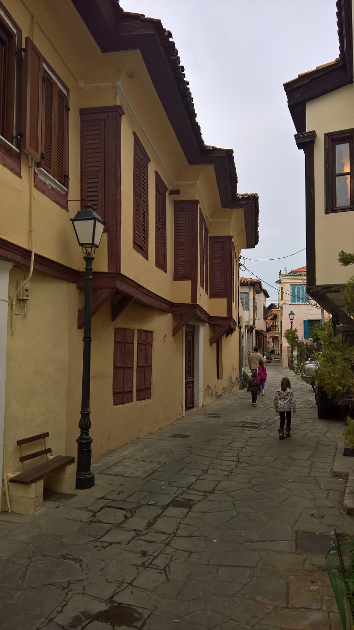 greece kids Kavala castle