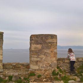 kavala castle greece kids