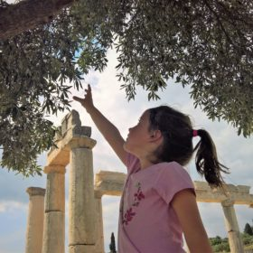 archaeological site kids Greece