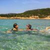 Greek summer baby friendly beach