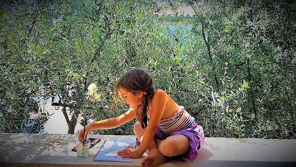 Mani family vacation Greece