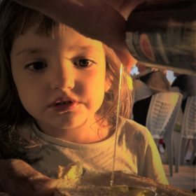 olive oil tasting Greece kids