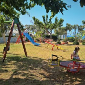 kids Greece beach playground