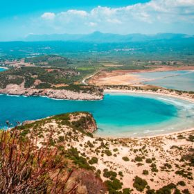 kids Greece beach best messinia