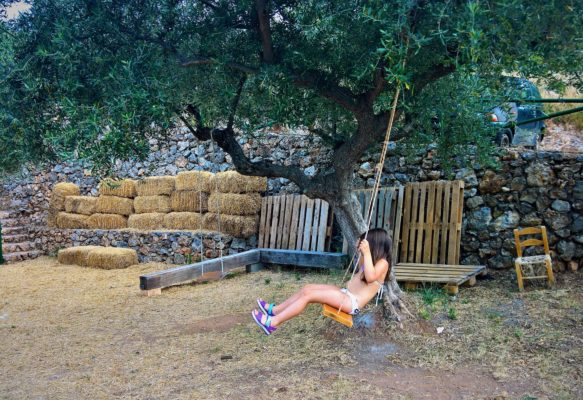 kids Greece farm kalamata