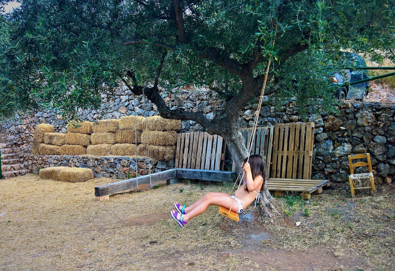 kids Greece farm kalamata