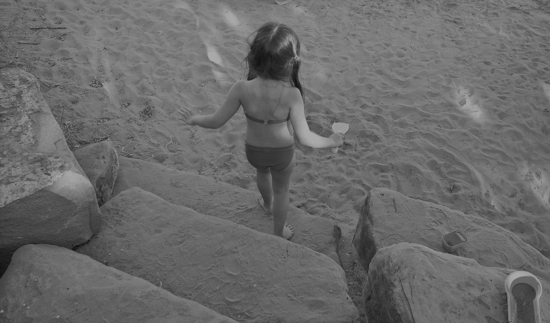 kids Greece beach