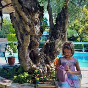 kids Greece hrani hotel