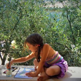 peloponnese kids Greece hotel mani