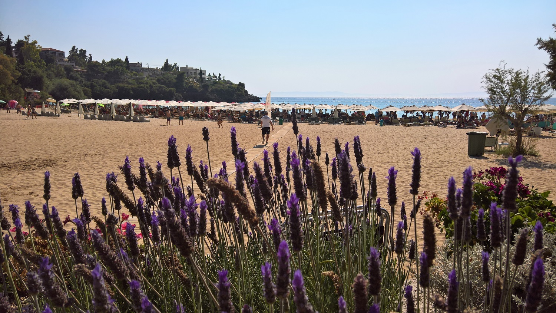 peloponnese kids Greece beach mani