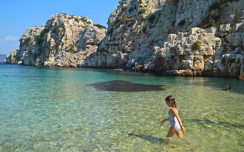 peloponnese kids Greece pylos