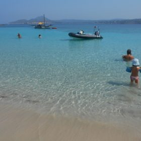 peloponnese kids Greece beach