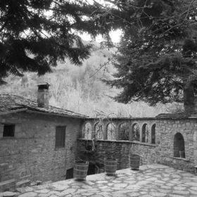metsovo kids Greece monastery