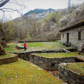 metsovo kids Greece watermill